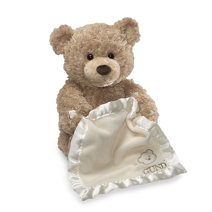 Alternate image 1 for GUND® 11.5-Inch Peek-A-Boo Bear