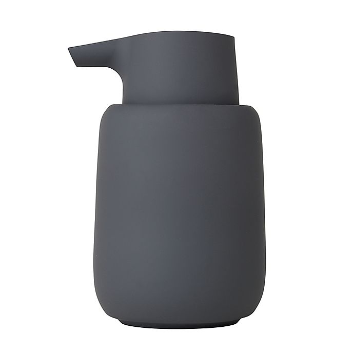 Alternate image 1 for Blomus Sono Soap Dispenser in Charcoal