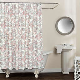 Avignon Floral 54-Inch 78-Inch Shower Curtain in Blush
