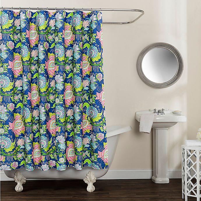 Alternate image 1 for Avignon Floral Shower Curtain