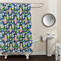 Avignon Floral Multicolor 72-Inch x 96-Inch Shower Curtain