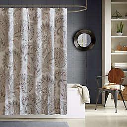 Mira Shower Curtain in Blush