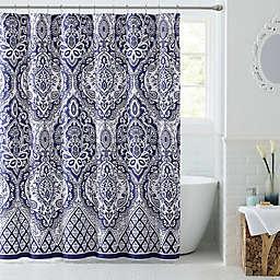 Tori Shower Curtain In Navy