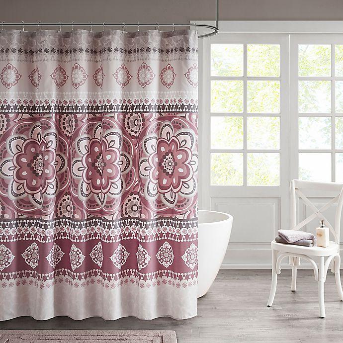 Alternate image 1 for Neda Medallion Shower Curtain