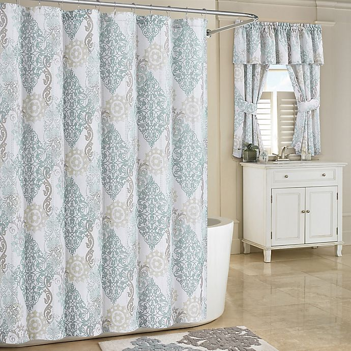 Alternate image 1 for Galileo Shower Curtain in Spa