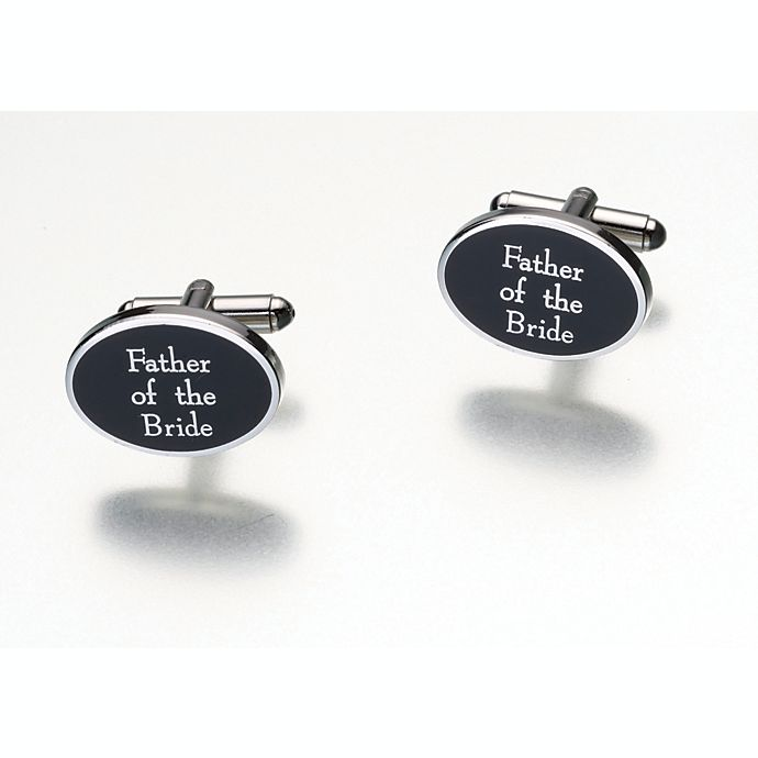 Alternate image 1 for Lillian Rose™ Father of the Bride Pair of Cufflinks