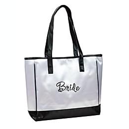 Lillian Rose™ Bride White Tote Bag