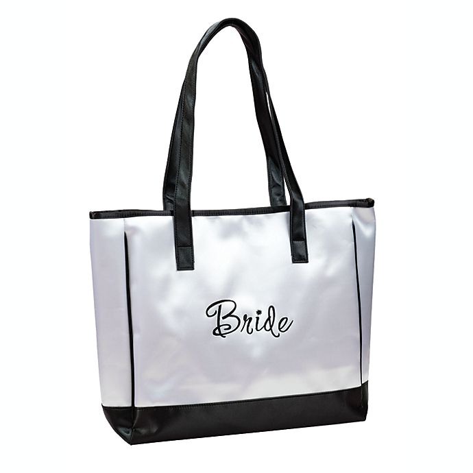Alternate image 1 for Lillian Rose™ Bride White Tote Bag