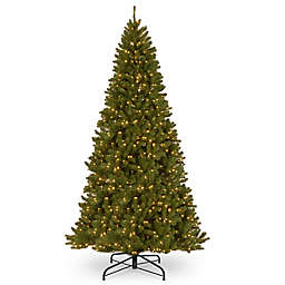 National Tree Company North Valley Large Pre-Lit Spruce Christmas Tree