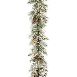 National Tree Company 9-Foot Pre-Lit Mountain Spruce Artificial Christmas Garland