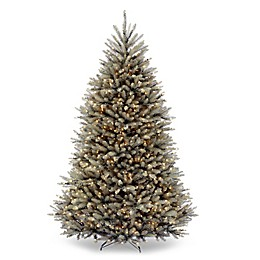 National Tree Company 7.5-Foot Pre-Lit Dunhill Fir Artificial Christmas Tree