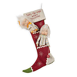 19-Inch Dilly and Dally Christmas Stocking
