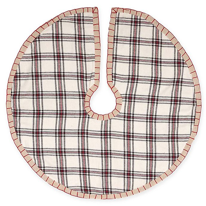 Alternate image 1 for VHC Brands 21-Inch Amory Mini Christmas Tree Skirt
