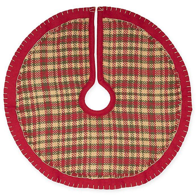 Alternate image 1 for 21-Inch Claren Mini Christmas Tree Skirt