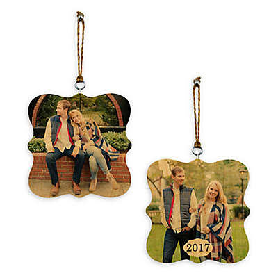Designs Direct Whimsical 2-Sided Wood Ornament