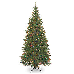 National Tree Company 7-Foot Pre-Lit Asepn Spruce Artificial Christmas Tree