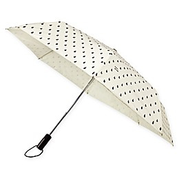 kate spade new york Compact Travel Umbrella in Raindrop