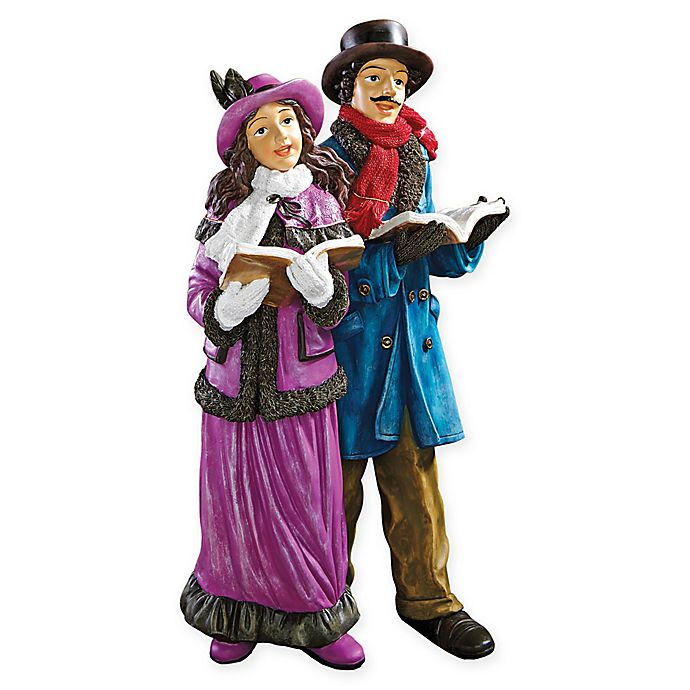 Alternate image 1 for Design Toscano Victorian Holiday Carolers Statue