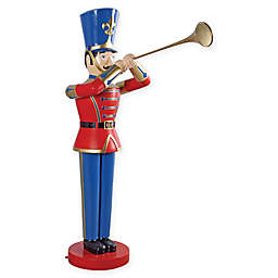 Design Toscano Medium Trumpeting Soldier Statue