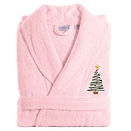 Linum Home Textiles Christmas Tree Bathrobe