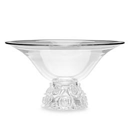 Godinger Dublin CrystalRose Bouquet Centerpiece Bowl