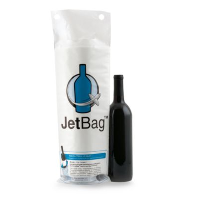 Jetbags Resealable Padded Wine Bags Set Of 3 Bed Bath