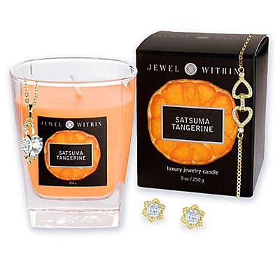 Satsuma Tangerine Hidden Jewelry 9 oz. Candle