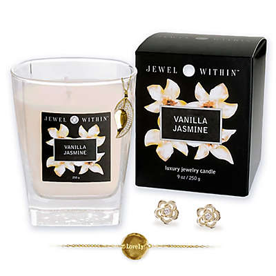 Vanilla Jasmine Hidden Jewelry 9 oz. Candle