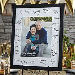 Anniversary Signature Photo Frame