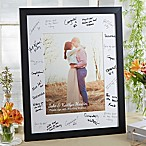 Wedding Guest 11-Inch x 14-Inch Signature Photo Frame