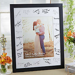 Wedding Guest Signature Photo Frame