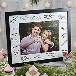 Wedding Shower Signature Photo Frame