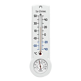 La Crosse™ Celsius Thermometer and Hygrometer