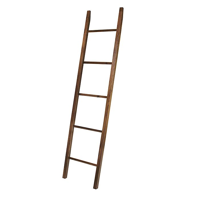 Alternate image 1 for American Trails Decorative Ladder in Walnut