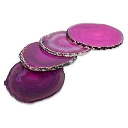 Medium Agate Coasters (Set of 4)