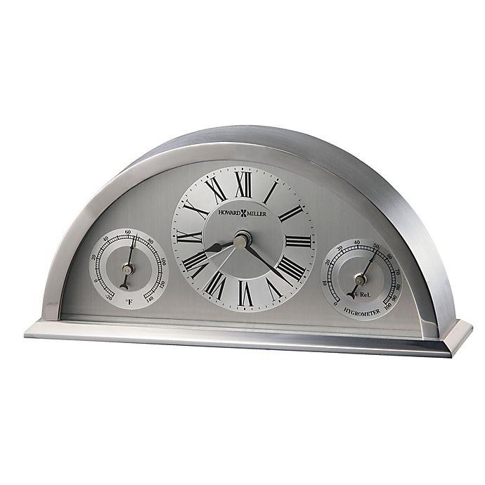 Alternate image 1 for Howard Miller Weatherton Tabletop Clock