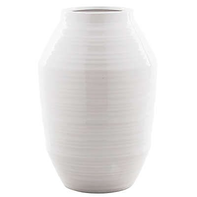 Bee & Willow™ Home 12-Inch Ceramic Vase in White
