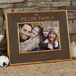 Family Is Precious Wood Picture Frame