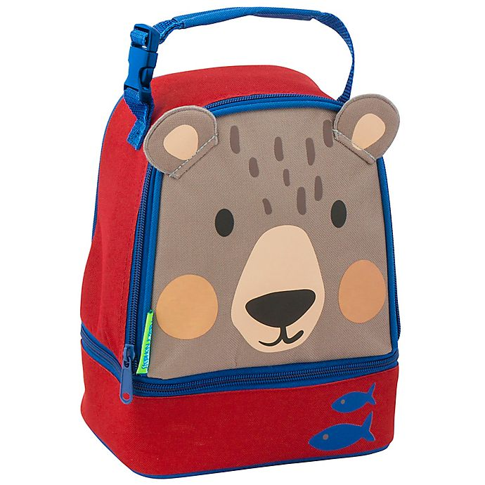 Alternate image 1 for Stephen Joseph® Lunch Pals Bear Lunch Bag