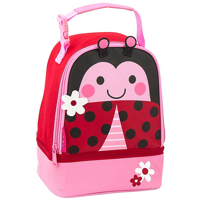 Alternate image 1 for Stephen Joseph® Lunch Pals Ladybug Lunch Bag