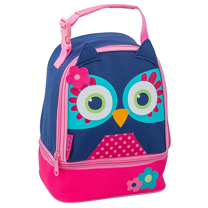 Alternate image 1 for Stephen Joseph® Lunch Pals Owl Lunch Bag