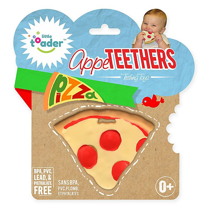 Alternate image 1 for Little Toader™ AppeTEETHERS™ Pizza™