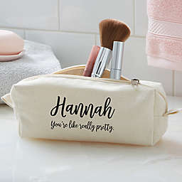Modern Name Cosmetic Case