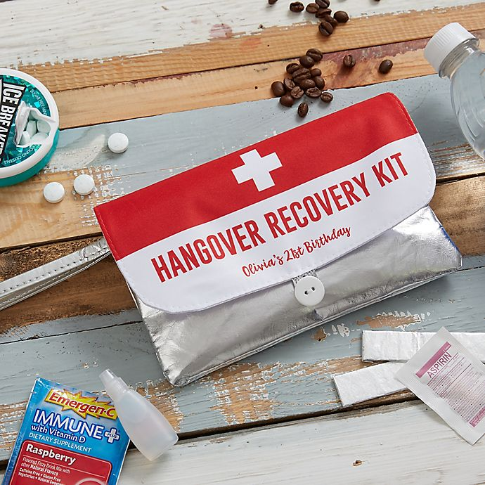 Alternate image 1 for Birthday Survival Kit Personalized Wristlet