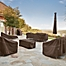Part of the Classic Accessories® Madrona RainProof Patio Furniture Cover Collection in Dark Cocoa