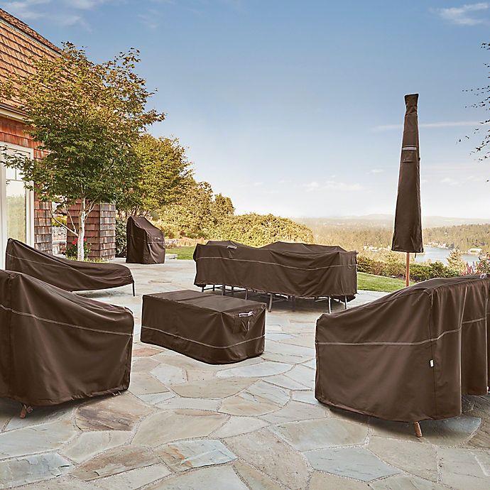 Rainproof Patio Furniture.Classic Accessories Madrona Rainproof Patio Furniture Cover