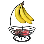 Home Basics® Banana Tree Fruit Basket/Hanger in Bronze