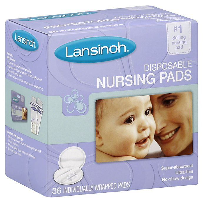 Alternate image 1 for Lansinoh® Nursing Pads (36 Count)