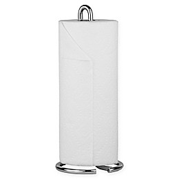 Home Basics Simplicity Paper Towel Holder in Chrome