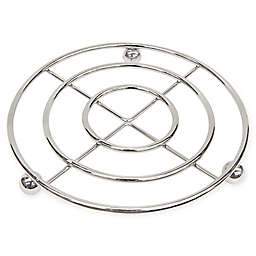 Home Basics Heavy-Duty Trivet in Chrome